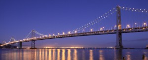 Bay Bridge in San Francisco, CA